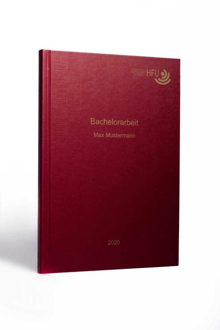 Hardcover rot goldene Schrift
