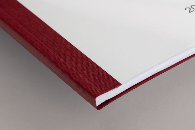 Softcover rot Ecke